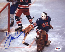 JIM CRAIG SIGNED AUTOGRAPH 8X10 PHOTO TEAM USA MIRACLE 1980 PSA