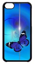 Butterflies Butterfly Art Black Case Cover for iPhone 4s 5 5s 5c 6 6 Plus