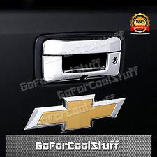 For 14-16 Chevy Silverado 1500 GMC Sierra Chrome Tailgate Handle Cover W/key & C