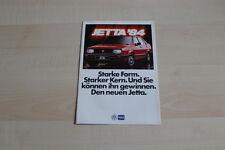 94909) VW Jetta Prospekt 1984
