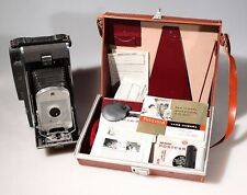POLAROID 150 KIT, CASE, MANUAL ,PRINT COATER AND OTHER ACCESSORIES