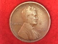 1916 s San Francisco mint Lincoln wheat cent #33