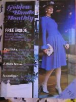 Vintage Golden Hands Monthly Sewing/Crafting Magazine July 1974