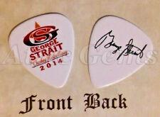 STRAIT - GEORGE STRAIT band logo signature guitar pick (k)