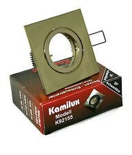 Quadr. Einbaustrahler Kamilux Modell Quajo K92155 - Rostfreier Deckenstrahler
