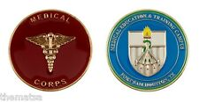 MEDICAL CORPS FORT SAM HOUSTON MEDICAL EDUCATION CAMPUS ARMY  CHALLENGE COIN
