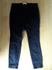 Next Black Mid rise Jeggings/leggings size 18 Reg ex Condition