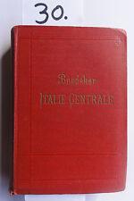 Baedeker italienne Centrale 1909 (W.)