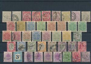 LN24873 Great Britain territories british monarchs fine lot used