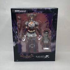 Square Enix Play Arts Kai Batman Arkham Asylum No. 4 Harley Quinn Figure Rare US
