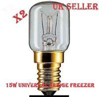 HOTPOINT LIGHT BULB  15W LAMP  FOR FRIDGE FREEZER INDESIT X2 PIECES