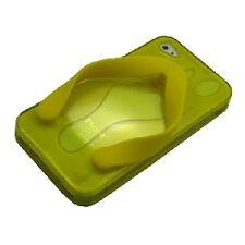 cover custodia morbida Iphone 4 4S  nuova versione infradito giallo