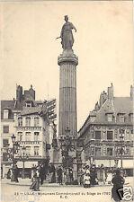 59 - cpa - LILLE - Monument commémoratif du siège de 1792
