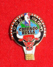 1998 Chicago Bulls Basketball NBA Champions The 6th Title Hat Pin NEW