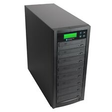 1-7 Multiple DVD CD Burner Discs Copier Duplicator& 500GB Built-In Hard Drive
