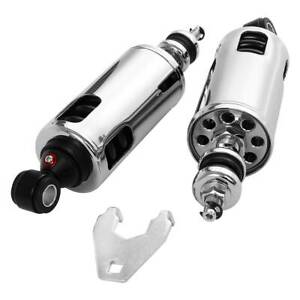 Heavy Duty Suspension Adjustable Rear Premium Shock Fit For Harley Softail 00-17