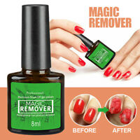 Nail Polish Primer Nail Gel Polish Burst Magic Remover Soak Off Coat Cleaner UV