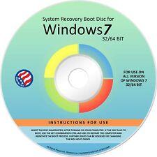 Ralix Reinstall DVD For Windows 7 All Versions 32/64 bit. Recover, Restore..NEW