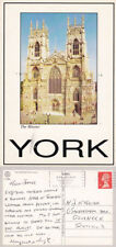 York Posted Printed Collectable English Postcards