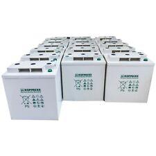 Hoppecke Batteries Lead Acid GEL 16X 6V 200Ah Deep Cycle Solar Power 48V