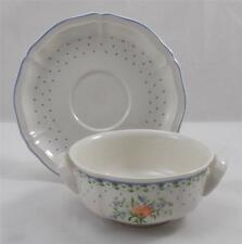 Villeroy & and Boch ROMANTICA soup bowl and saucer