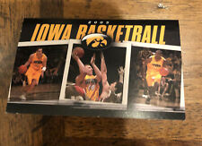 2005 University of Iowa Basketball Pocket Schedule - Hawkeyes
