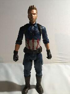 Captain America Infinity War Titan Hero Series 12 inch figure marvel Hasbro