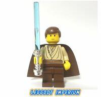 LEGO Minifigure Star Wars - Obi-Wan Kenobi padawan braid - sw069 FREE POST