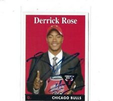 2008-09 TOPPS #196 DERRICK ROSE RC AUTO AUTOGRAPHED CARD SIGNED W/COA BULLS