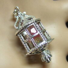 SILVER second hand lamp charm