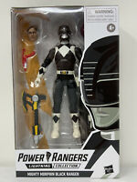 Power Rangers Lightning Collection Mighty Morphin Black Ranger Action Figure 🔥