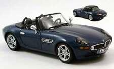 1:43 Norev BMW Z8 Spider Die Cast Model Dark Blue 350021 NEW