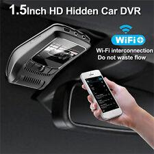Wifi 1080P HD Spy Hidden Car Camera DVR Video Recorder Night Vision Dash Cam New