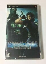 USED PSP Crisis Core Final Fantasy VII JAPAN Sony PlayStation Portable Japanese
