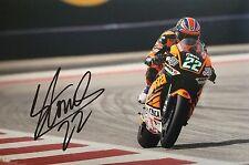 Sam Lowes signed Moto GP 2 12x8 photo Image A UACC Registered dealer