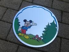 Wandspiegel Micky Maus  Spiegel   Kinderzimmer Rund