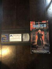 Trancers 3: Deth Lives (VHS) 1992