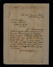 Lt. E. K. Dargan, Pee Dee Artillery H. Q. Pegram's Battalion letter 10 Feb 1864