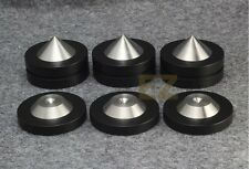 12 x Speaker AMP Spike Cone 12x Base Isolation Feet Improve Audio Sound Update