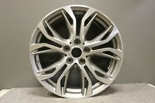 "1 GENUINE ORIGINAL BMW X1 X2 18"" DIAMOND CUT GREY ALLOY WHEEL STYLE 566 6856067"