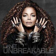 JANET JACKSON - UNBREAKABLE CD ALBUM - EYES OPEN COVER (October 2nd 2015)