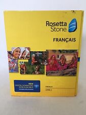 Rosetta Stone NEW FRENCH FRANCAIS LEVEL 1 VERSION 4 SEALED Headset Microphone