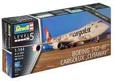 Revell 1/144 Boeing 747-8F Cargolux Cutaway Plastic Model Kit 04949