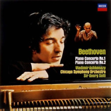 VLADIMIR ASHKENAZY-L. VAN BEETHOVEN-PIANO CONCERTO NO.1 & 2-JAPAN CD Ltd/Ed C00