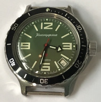 Automatic watch VOSTOK 2416, Diver 200 Komandirskie USSR soviet vintage