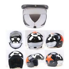 7ff9a0b17d600 Escudo de Burbuja de 3 Botones para Cascos de Motoristas