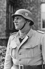 WW2 Photo Otto Skorzeny posing with the Knight's Cross of the Iron Cross 649