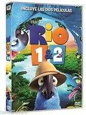 RIO 1 + 2 DVD PACK DE 2 PELICULAS NUEVO ( SIN ABRIR )