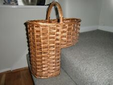 Wicker stair basket. Used in Good Condition. Little used