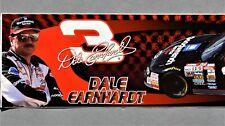 ORIGINAL DALE EARNHARDT 2001 NASCAR RACING BUMPER STICKER ~ DAYTONA 500 ~ NEW
